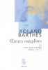 Barthes : Oeuvres complètes III (1968-1971)