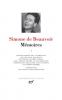 Beauvoir : Mémoires T1