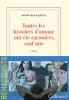 Benacquista : Toutes les histoires d'amour ont été racontées, sauf une