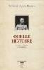 Audoin-Rouzeau : Quelle histoire. Un récit à filiation (1914-2014)