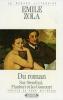 Zola : Du Roman : Sur Stendhal, Flaubert et les Goncourt