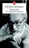Anissimov : Primo Levi ou la tragédie d'un optimiste. Biographie
