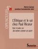 Canivez : Ethique et le soi chez Paul Ricoeur - Huit études sur Soi-même comme un autre