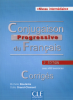Intermédiaire : Conjugaison progressive du français avec 450 exercices - niveau intermédiaire A2, B1, B2 - les corrigés