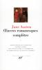 Austen : Oeuvres romanesques complètes I