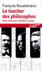 Noudelmann : Le toucher des philosophes. Sartre, Nietzsche et Barthes au piano