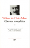 Villiers de l'Isle-Adam : Oeuvres complètes, tome II