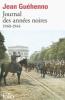 Guéhenno : Journal des années noires. 1940-1944 (nouv. éd.)