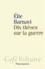 Barnavi : Dix thèses sur la guerre