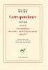 Correspondance Paul Celan - René Char (1954-1968)