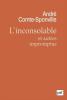 Comte-Sponville : L'inconsolable et autres impromptus