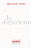 Perec : La disparition