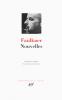 Faulkner : Nouvelles