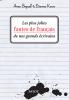 Les plus jolies fautes de français de nos grands écrivains