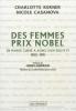 Kerner : Des femmes prix Nobel - De Marie Curie à Aung San Suu Kyi, 1903-1991