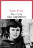 Frain : Un crime sans importance (Prix Interallié 2020)