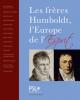 Catalogue : Les frères Humboldt, l'Europe de l'esprit