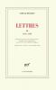 Beckett : Lettres IV (1667-1989)