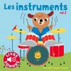 Billet : Les instruments vol. 2 : La clarinette - Le violoncelle - La trompette - La harpe - La batterie - La guitare électique