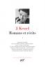 Kessel : Romans et récits I