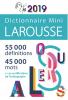 Dictionnaire Larousse mini français 2019