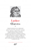 Luther : Oeuvres II
