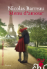 Barreau : Menu d'amour