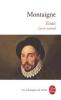 Montaigne : Les essais (livre second)