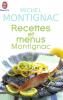 Montignac : Recettes et menus Montignac - 1