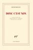 Michaux : Donc c'est non. Lettres réunies et annotées par Jean Luc Outers