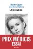 Ogier : J'ai oublié (Prix Médicis Essai 2019)