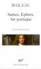 Boileau : Satires, Epîtres, Art poétique