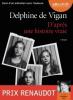 De Vigan : D'après une histoire vraie (CD audio)
