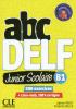 abc DELF Junior Scolaire B1 - 200 exercices + livre web, 100% en ligne