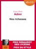 Adimi : Nos richesses (livre audio lu par Jean-Pau Bordes)