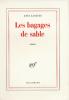 Langfus : Bagages de sable (Goncourt 1962)
