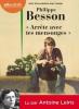 """Besson : """"Arrête avec tes mensonges"""" (CD audio)"""