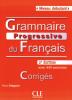 Débutant - Grammaire progressive du Français avec 440 exercices - niveau débutant - Les corrigées