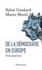 Goulard & Monti : De la démocratie en Europe