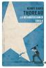 Thoreau : La désobéissance civile