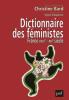 Bard : Dictionnaire des féministes. France XVIIIe - XXIe siècle