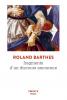 Barthes : Fragments d'un discours amoureux