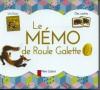 Caputo : Roule galette (livre + jeu mémo)