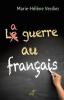 Verdier : La guerre au français