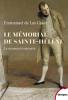Las Cases : Le mémorial de Sainte-Hélène