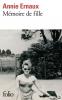 Ernaux : Mémoire de fille