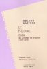 Barthes : Le Neutre