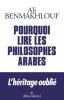 Benmakhlouf : Pourquoi lire les philosophes arabes