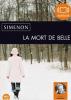 Simenon : La mort de Belle. 1 CD MP3