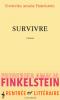 Finkelstein : Survivre